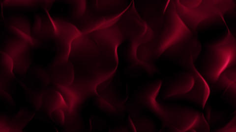 Red Flowing Slow Swirls Streaks Dark Abstract Motion Background Loop 2 Animation
