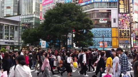 Shibuya Street Tokyo 영상물