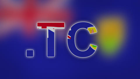TC - Internet Domain of Turks and Caicos Islands Footage