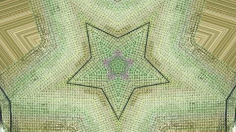 Acrylic abstract kaleidoscope Stock Video Footage
