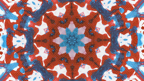 Acrylic abstract kaleidoscope Animation