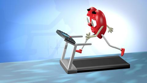 Cardio exercise Animación
