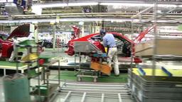 JAPANESE CAR FACTORY IN JAPAN ビデオ