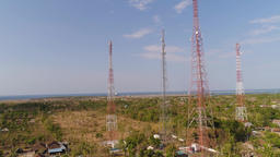 Cell phone towers Footage