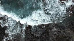 korea jejudo sagyebeach aerial photography Footage