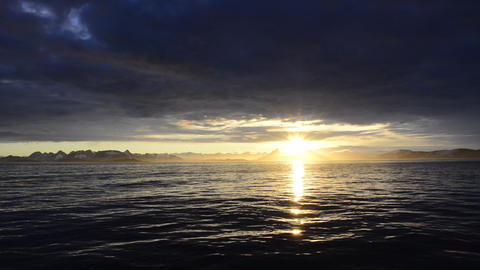 Sunset in Antarctica Live Action