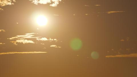Golden sunshine in the sky GIF