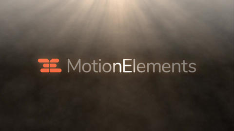 LOGO light and smoke After Effects Template