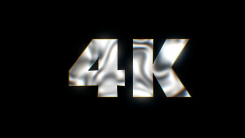 4K - text animation motion typographics art visual vj clip Live Action