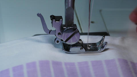 1080p Ungraded: Sewing Machine / Sewing Needle / Dress Maker Footage
