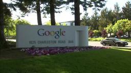 Google headquarters USA Footage