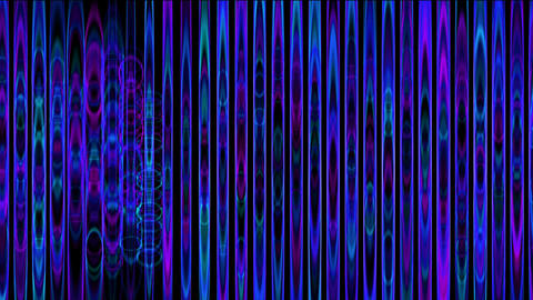 Background of colored strips for discoteque Animation