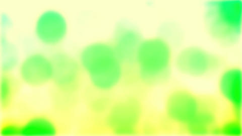 Green Bokeh On White Falling Rain Loop Background Animation
