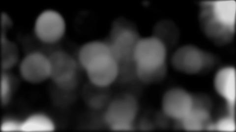 Black And White Bokeh Falling Rain Loop Background Animation