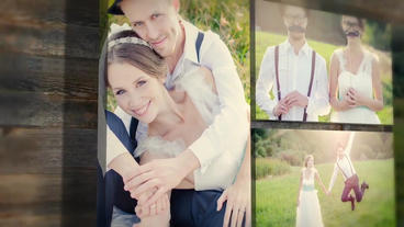 Gallery Wedding Story template After Effects Project