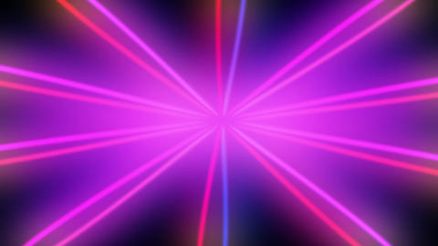 Purple Colored Rays Sunbursr Loop Background Animation