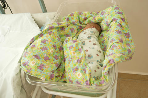 baby in the hospital the first days of life Fotografía