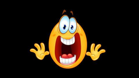 Panic emoticon animation Animation