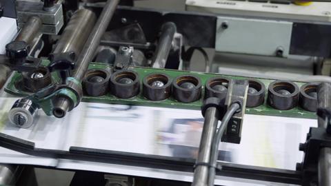 transporter print factory details Footage