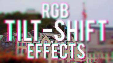 RGB Tilt Shift Effects Premiere Pro Template