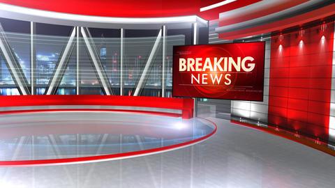 Breaking news virtualset 4 Animation