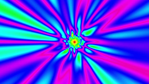 Fast Psychedelic Colorful Warp Effect Abstract VJ Motion Background 1 Animation