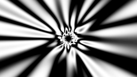 Fast Psychedelic Black And White Warp Effect Abstract VJ Motion Background 3 Animation