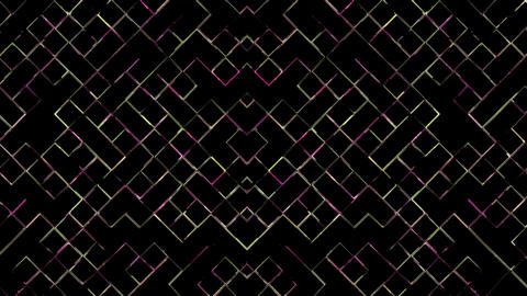 Abstract Moving Lines Animation