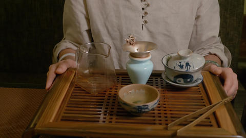 Gun Fu Cha. Tea Ceremony Live Action