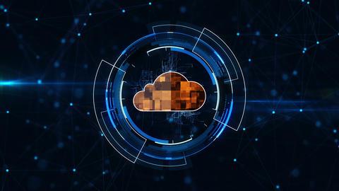 Cloud coucept Animation