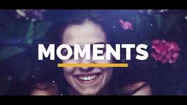 Moments Premiere Pro Template