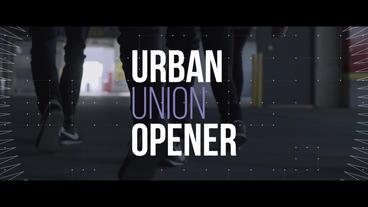 Urban Union Opener Premiere Pro Template