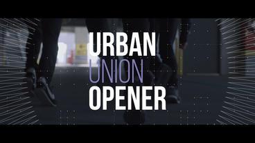 Urban Union Opener Premiere Proテンプレート
