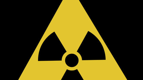 Toxic signs animation Stock Video Footage