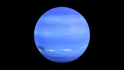 The solar system-Neptune Animation