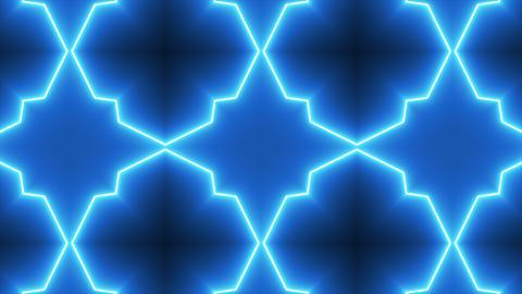 Neon Kaleidoscope Background Footage