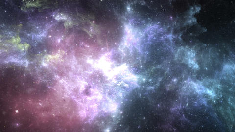 Galaxy Abstract Background Footage