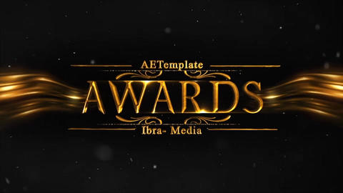 AWARDS TITLES After Effects Template