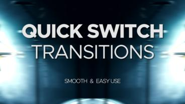 Quick Switch Transitions Premiere Pro Template