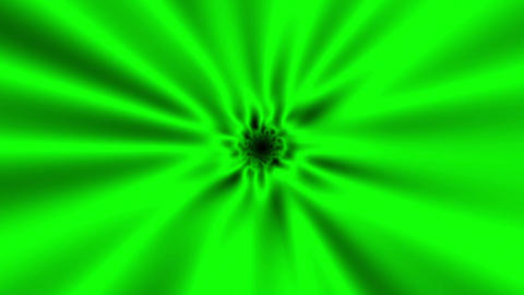 Fast Psychedelic Green Warp Effect VJ Abstract Motion Background 1 Animation