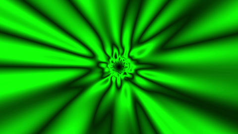 Fast Psychedelic Green Warp Effect VJ Abstract Motion Background 2 Animation