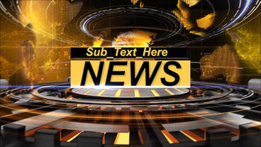 News Intro After Effects Template