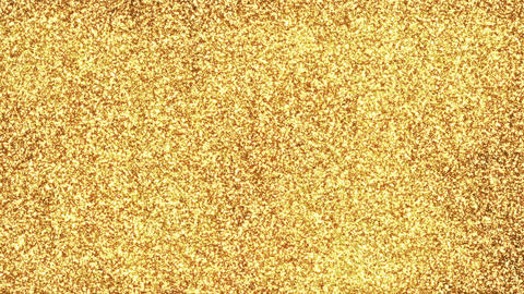 Gold Particle Background Loop GIF