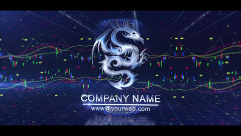 Economic Logo After Effects Template