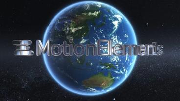 Cinematic Earth Logo 애프터 이펙트 템플릿