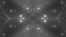 VJ Fractal silver kaleidoscopic background CG動画素材