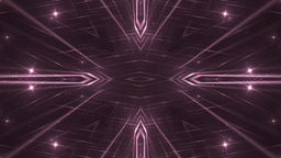 VJ Fractal pink kaleidoscopic background CG動画素材