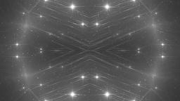 VJ Fractal silver kaleidoscopic background Animation