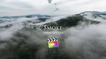 Smoke Transitions Apple Motionテンプレート