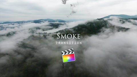 Smoke Transitions Apple Motion Template